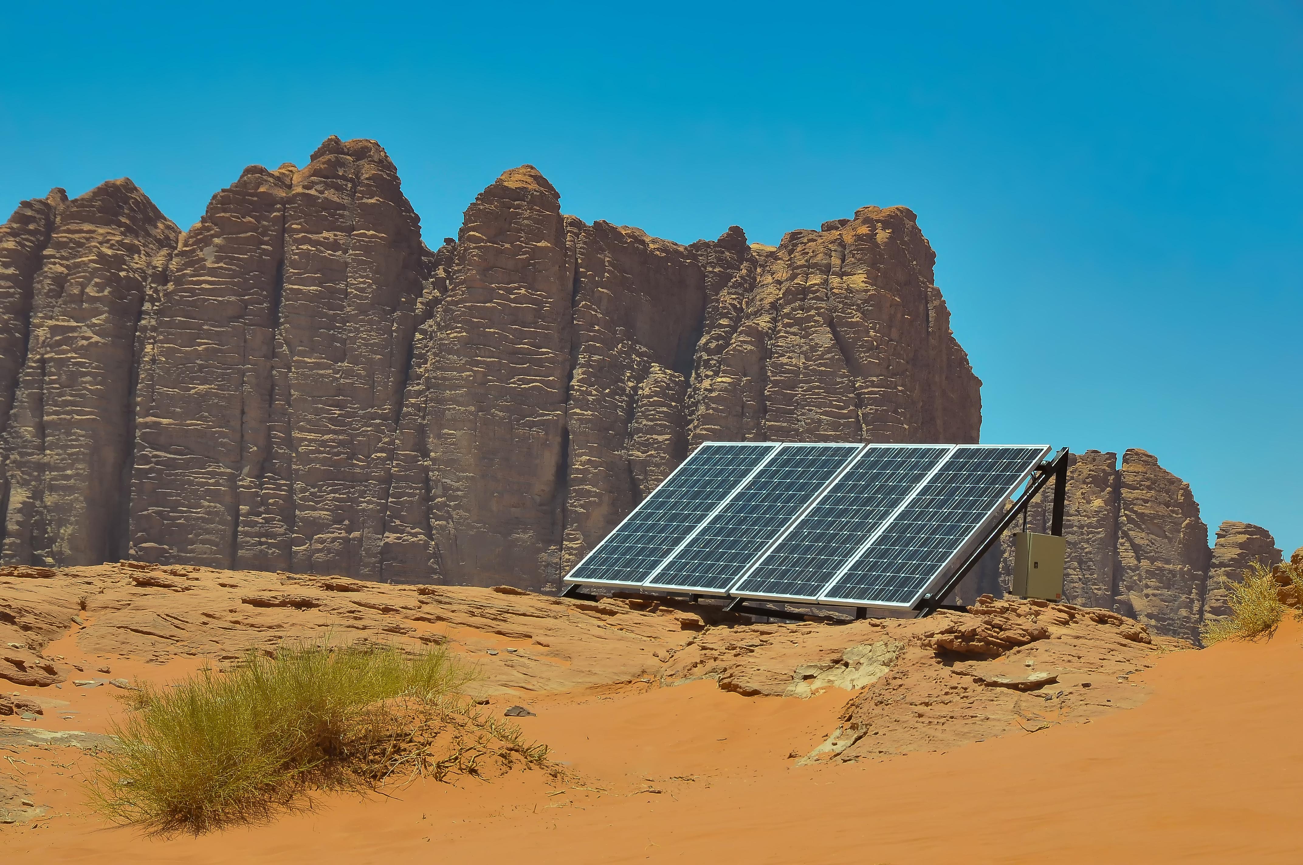 Bedouin solar panels